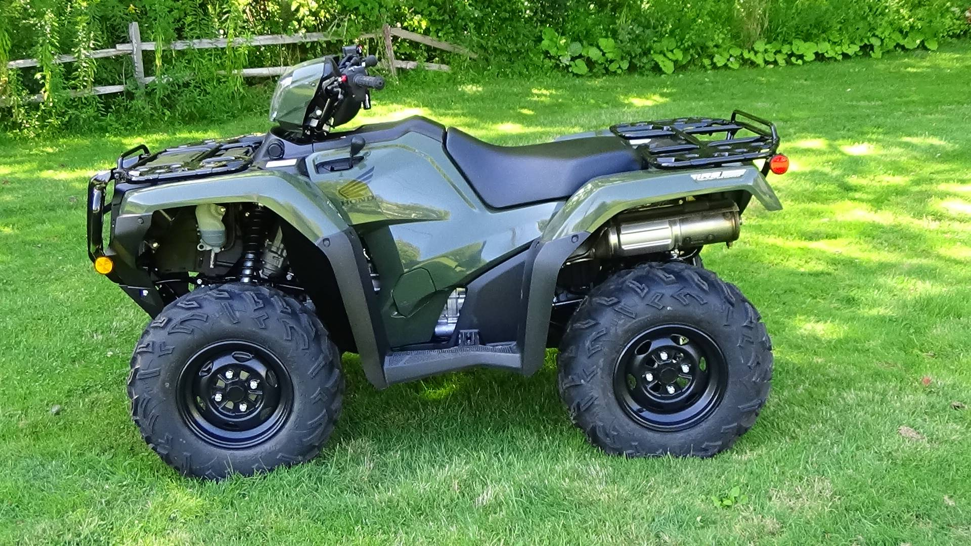 2020 Honda FourTrax Foreman Rubicon 4x4 Automatic DCT EPS in Bennington, Vermont - Photo 11