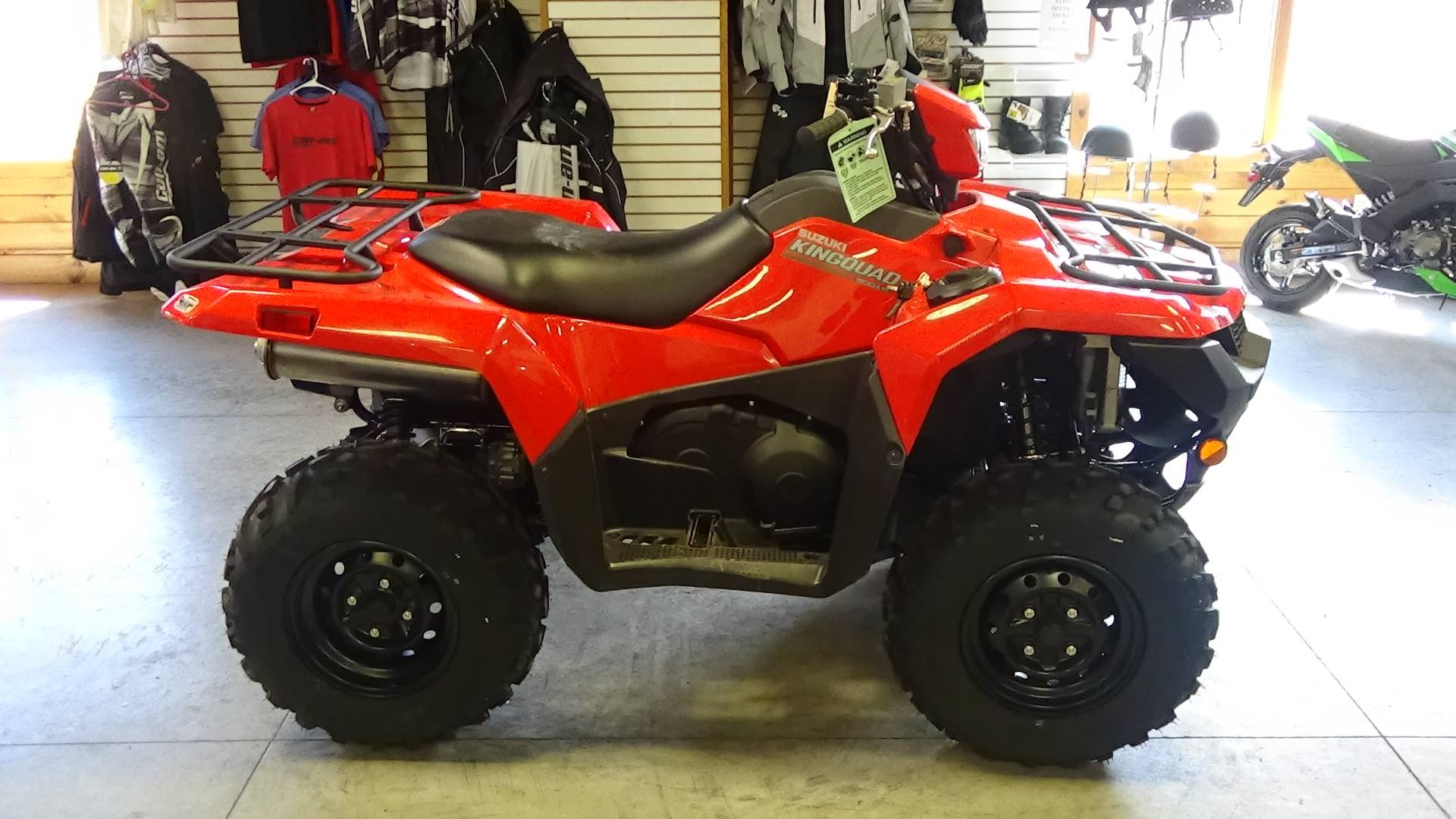 2019 Suzuki KingQuad 500AXi in Bennington, Vermont - Photo 1