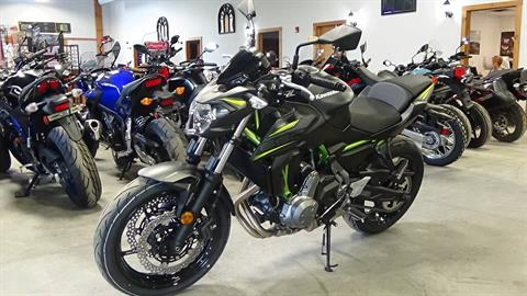 2019 Kawasaki Z650 ABS in Bennington, Vermont - Photo 2