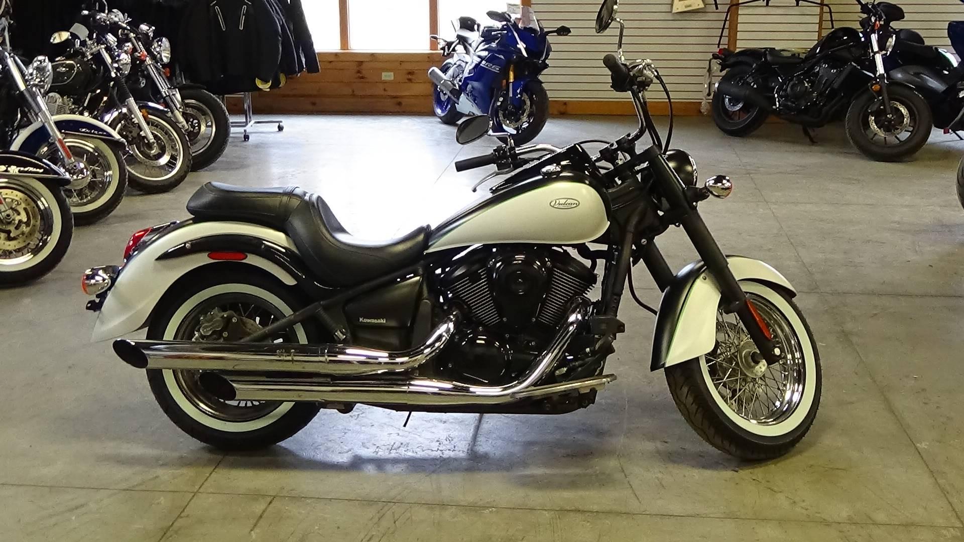 Used 2015 Kawasaki Vulcan® 900 Classic Motorcycles in Bennington, VT