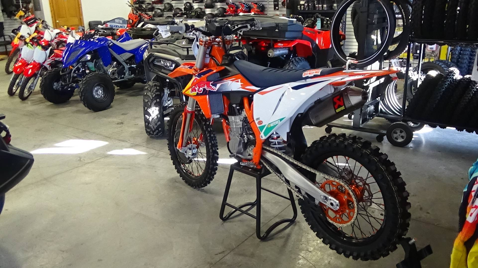 2021 KTM 450 SX-F Factory Edition in Bennington, Vermont - Photo 4