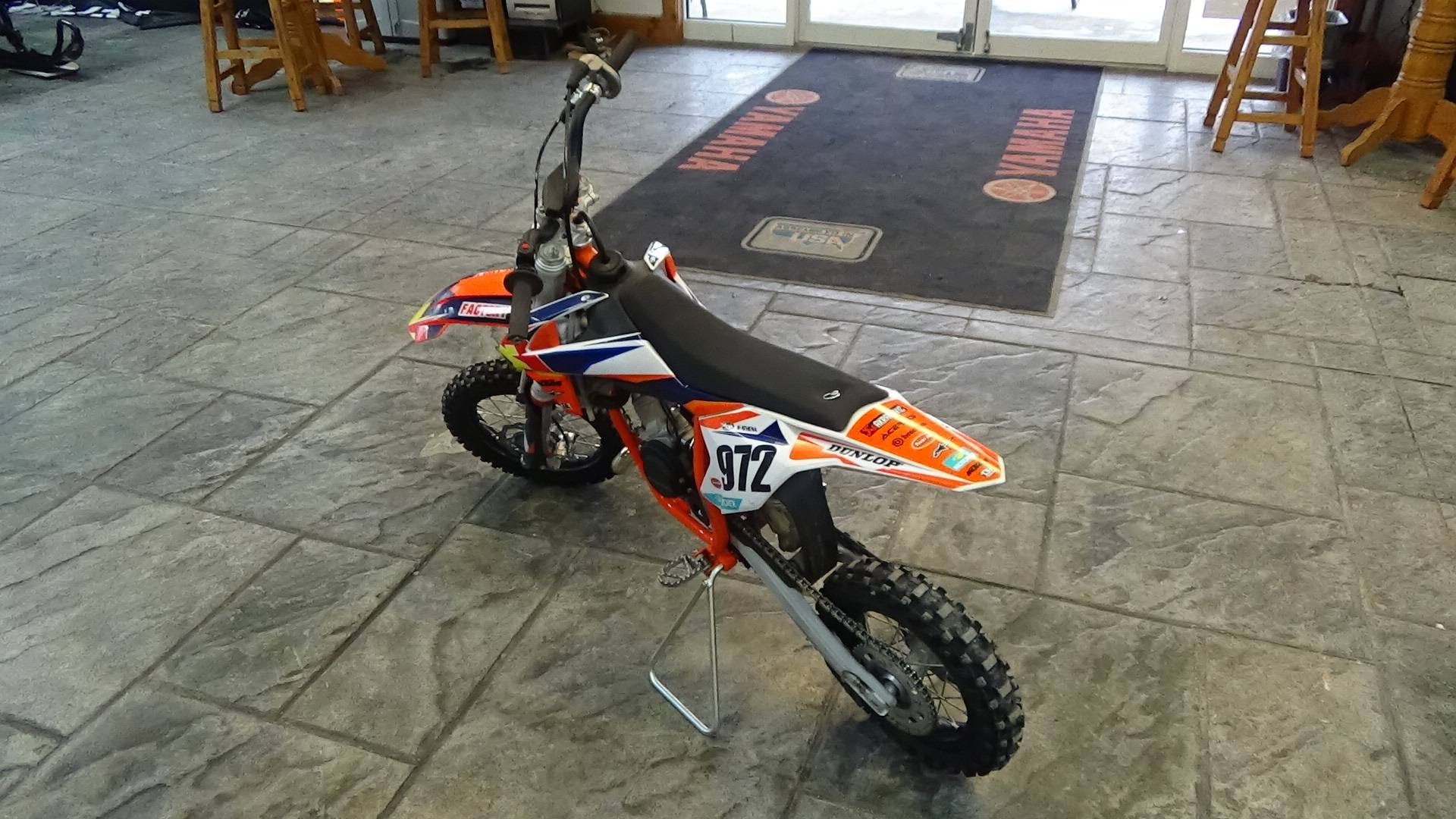 2021 KTM 50 SX in Bennington, Vermont - Photo 12