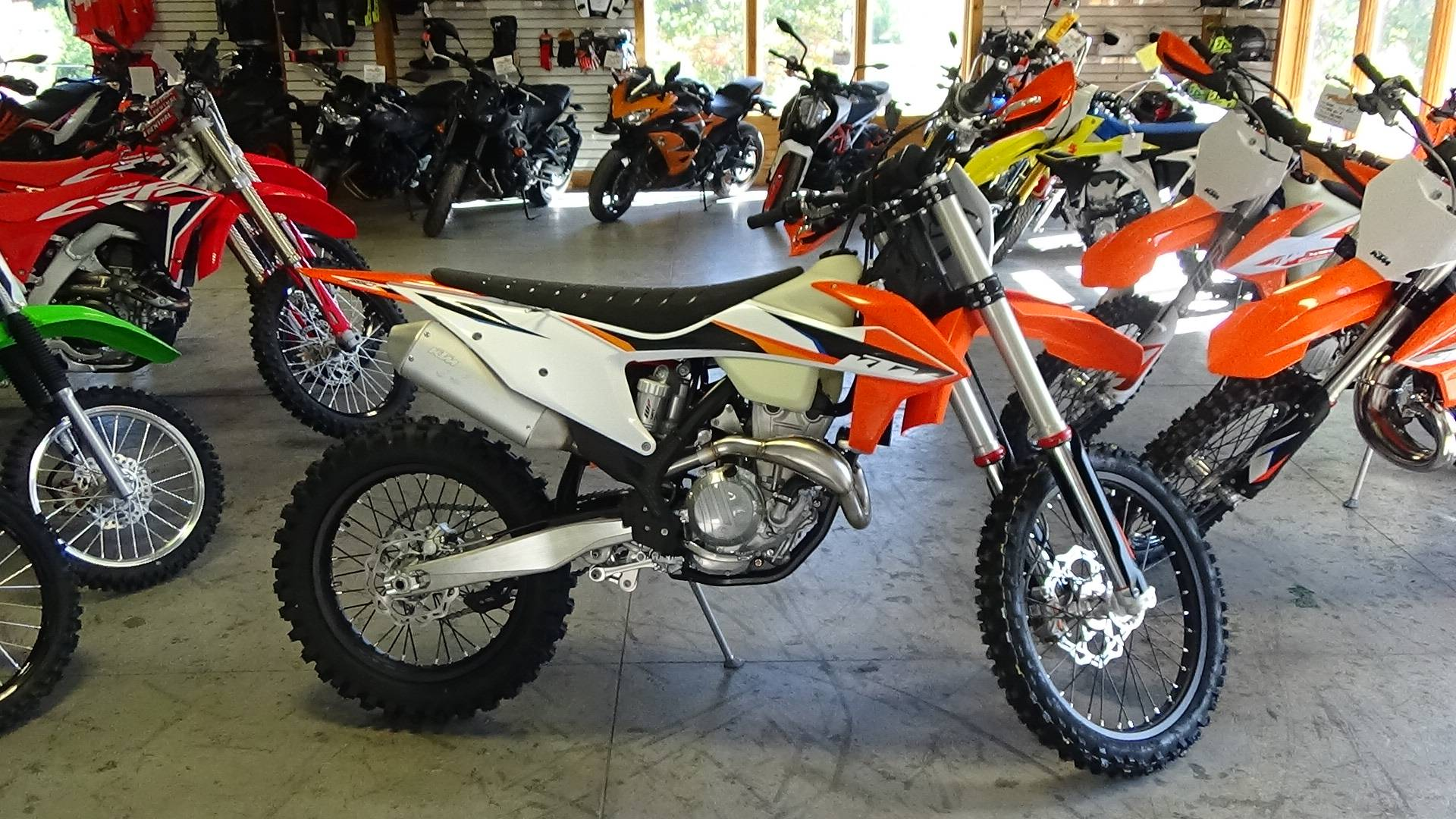 2021 KTM 350 XC-F in Bennington, Vermont - Photo 2