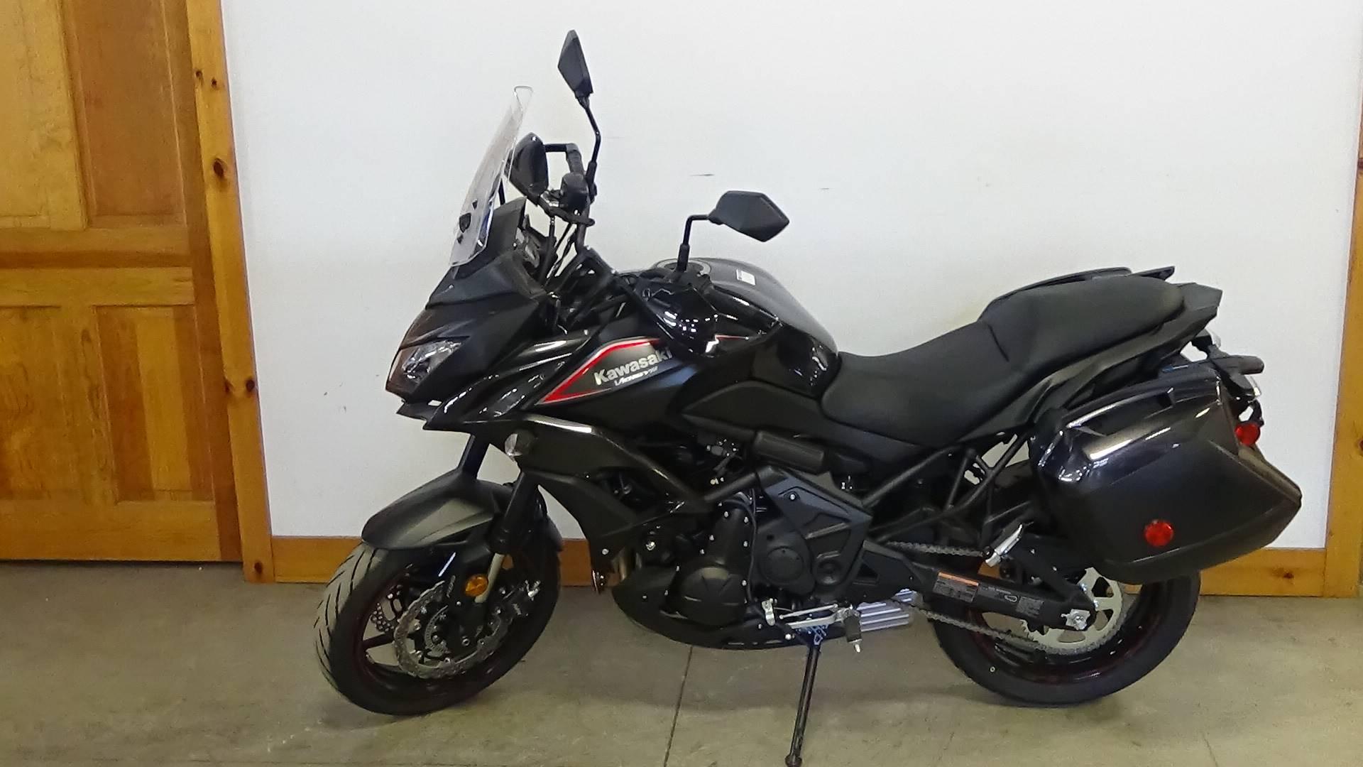 New 2018 Kawasaki Versys 650 Lt Motorcycles In Adams Ma
