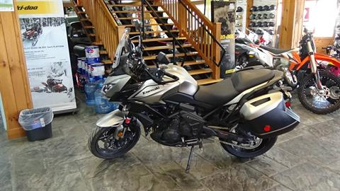 2017 Kawasaki Versys 650 LT in Bennington, Vermont - Photo 6