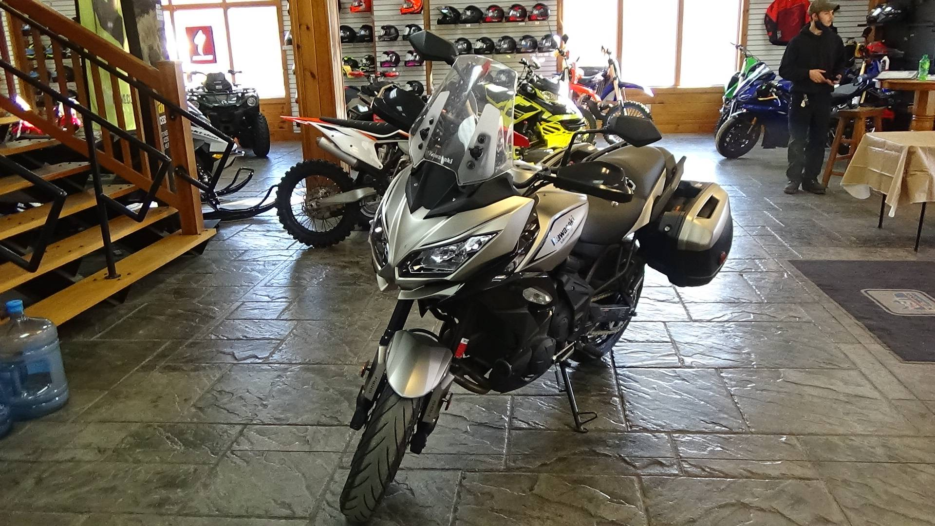 2017 Kawasaki Versys 650 LT in Bennington, Vermont - Photo 8