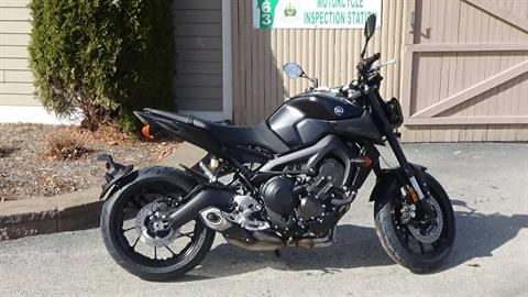 2019 Yamaha MT-09 in Bennington, Vermont