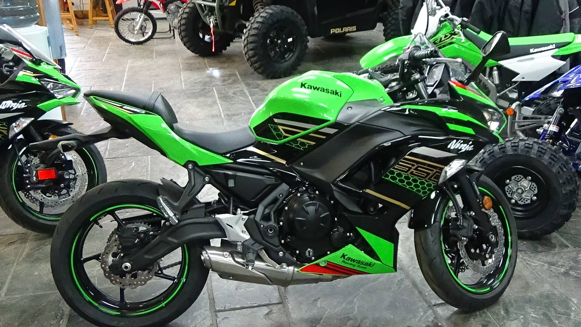 2020 Kawasaki Ninja 650 ABS KRT Edition in Bennington, Vermont - Photo 3
