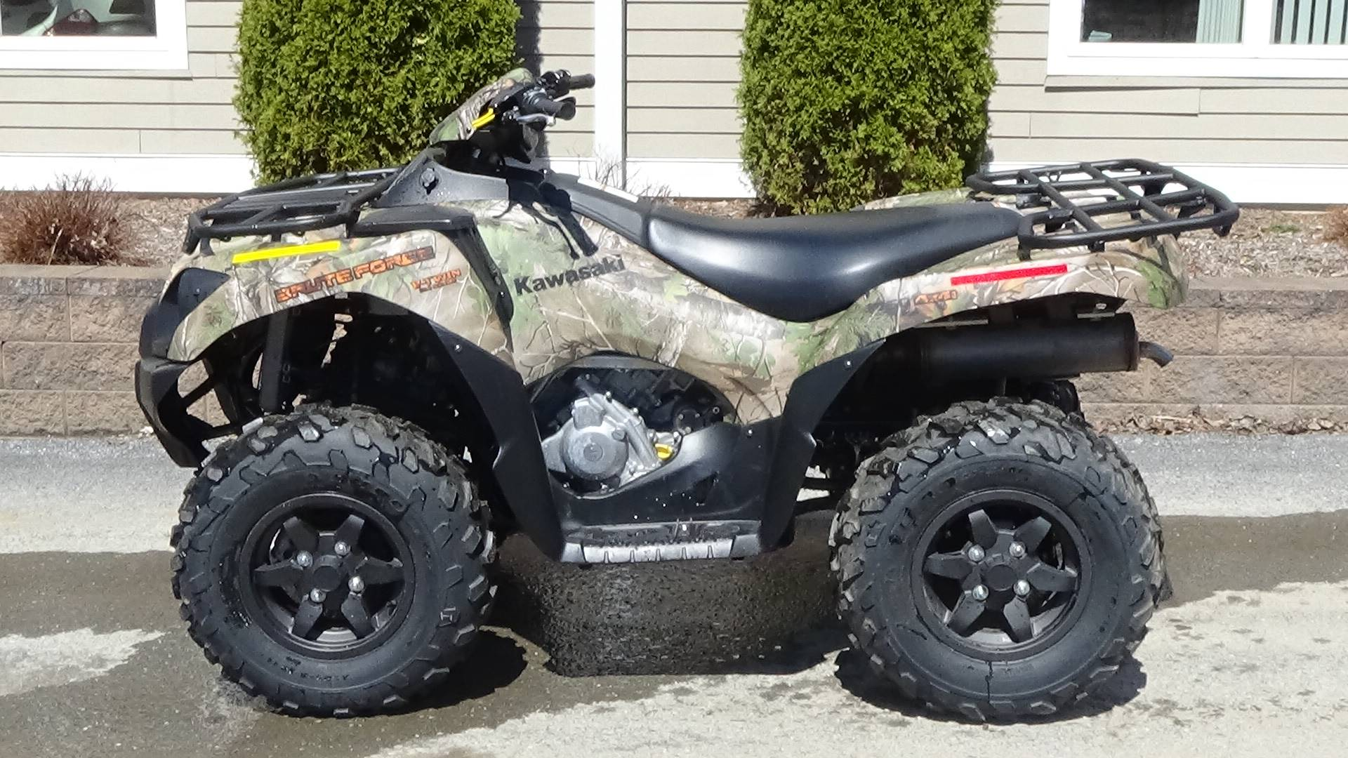 2019 Kawasaki Brute Force 750 4x4i EPS Camo in Bennington, Vermont - Photo 1