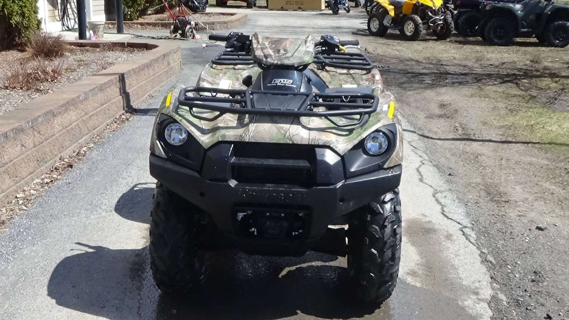 2019 Kawasaki Brute Force 750 4x4i EPS Camo in Bennington, Vermont - Photo 2