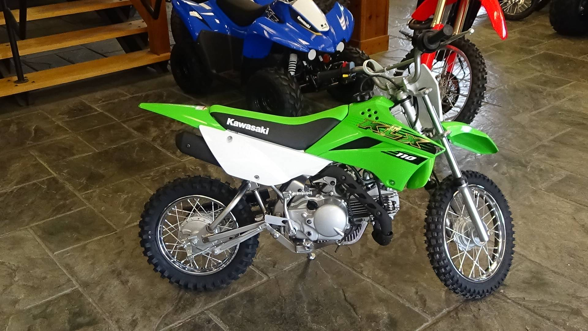 2020 Kawasaki KLX 110 in Bennington, Vermont - Photo 4