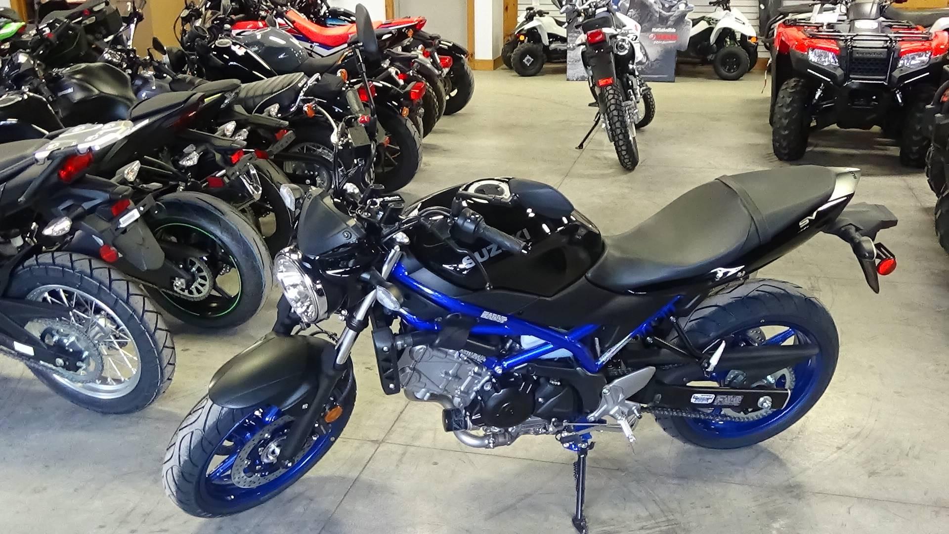 New 2019 Suzuki SV650 ABS Motorcycles in Adams, MA | Stock