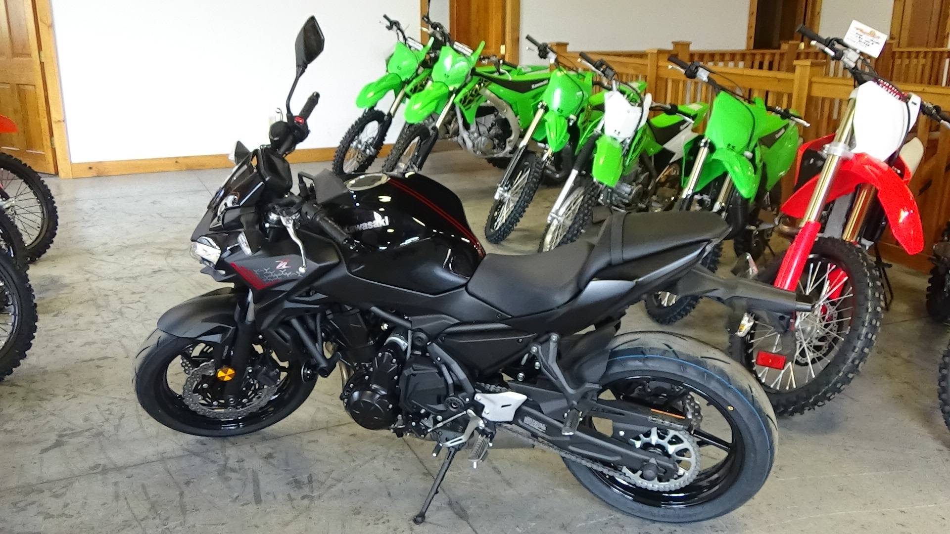 2020 Kawasaki Z650 ABS in Bennington, Vermont - Photo 1