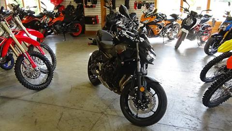 2020 Kawasaki Z650 ABS in Bennington, Vermont - Photo 4