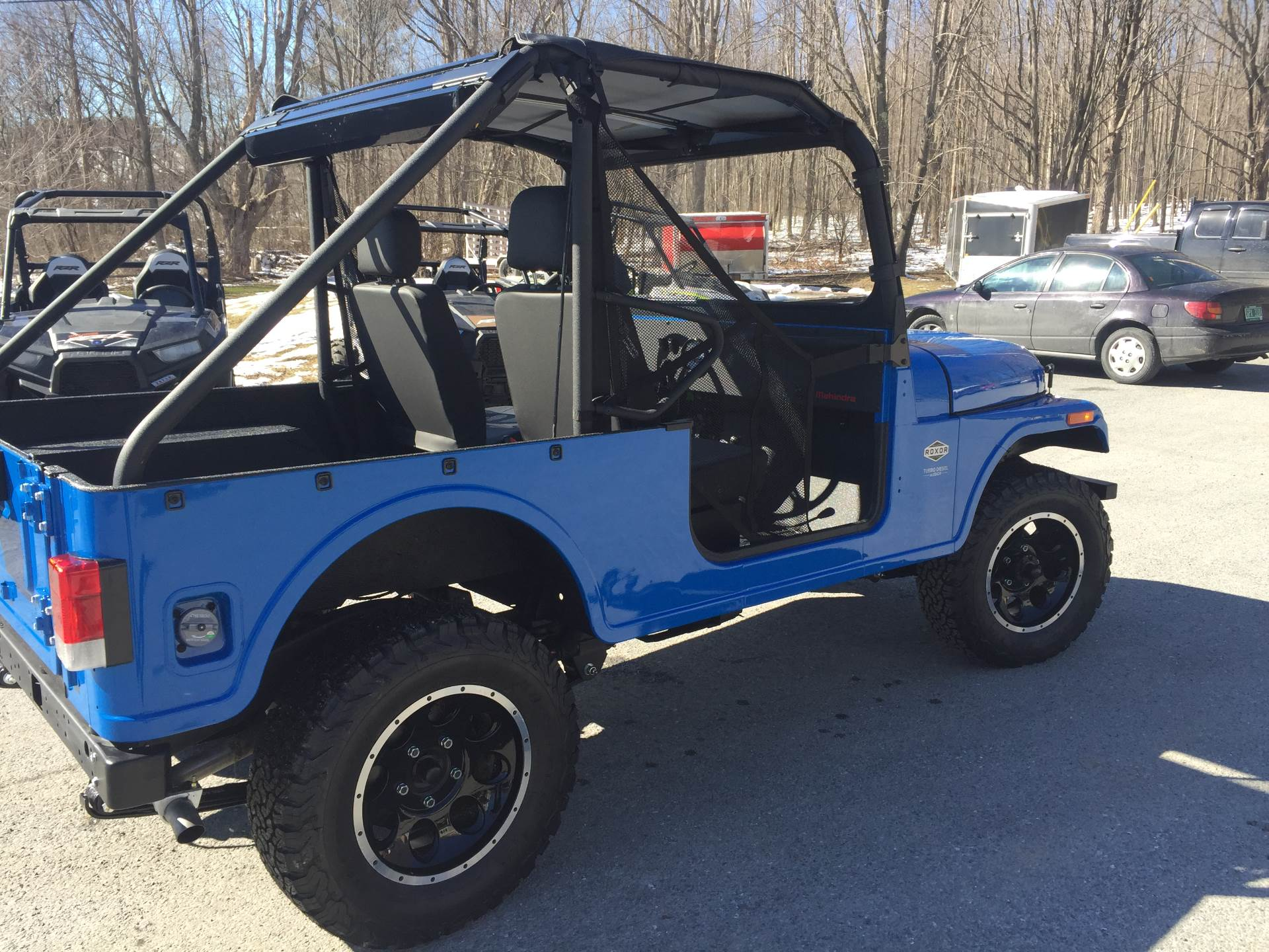 2018 Mahindra Roxor Limited Edition in Bennington, Vermont