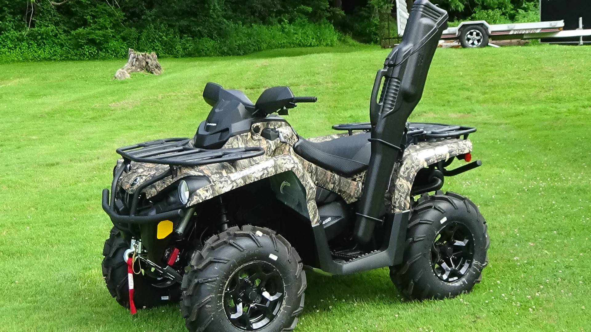 2019 Can-Am Outlander Mossy Oak Hunting Edition 450 in Bennington, Vermont - Photo 1