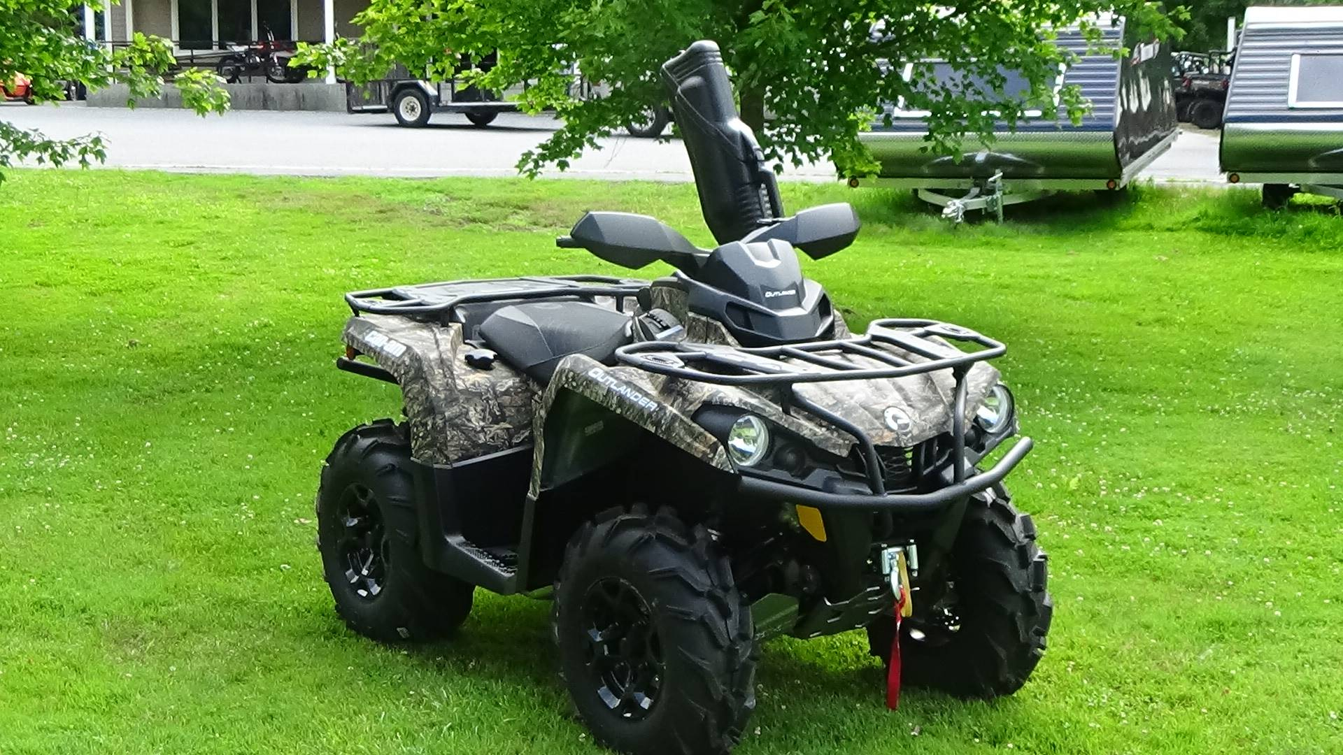 2019 Can-Am Outlander Mossy Oak Hunting Edition 450 in Bennington, Vermont - Photo 4