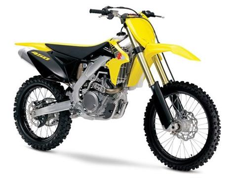 2017 Suzuki RM-Z450 in Adams, Massachusetts