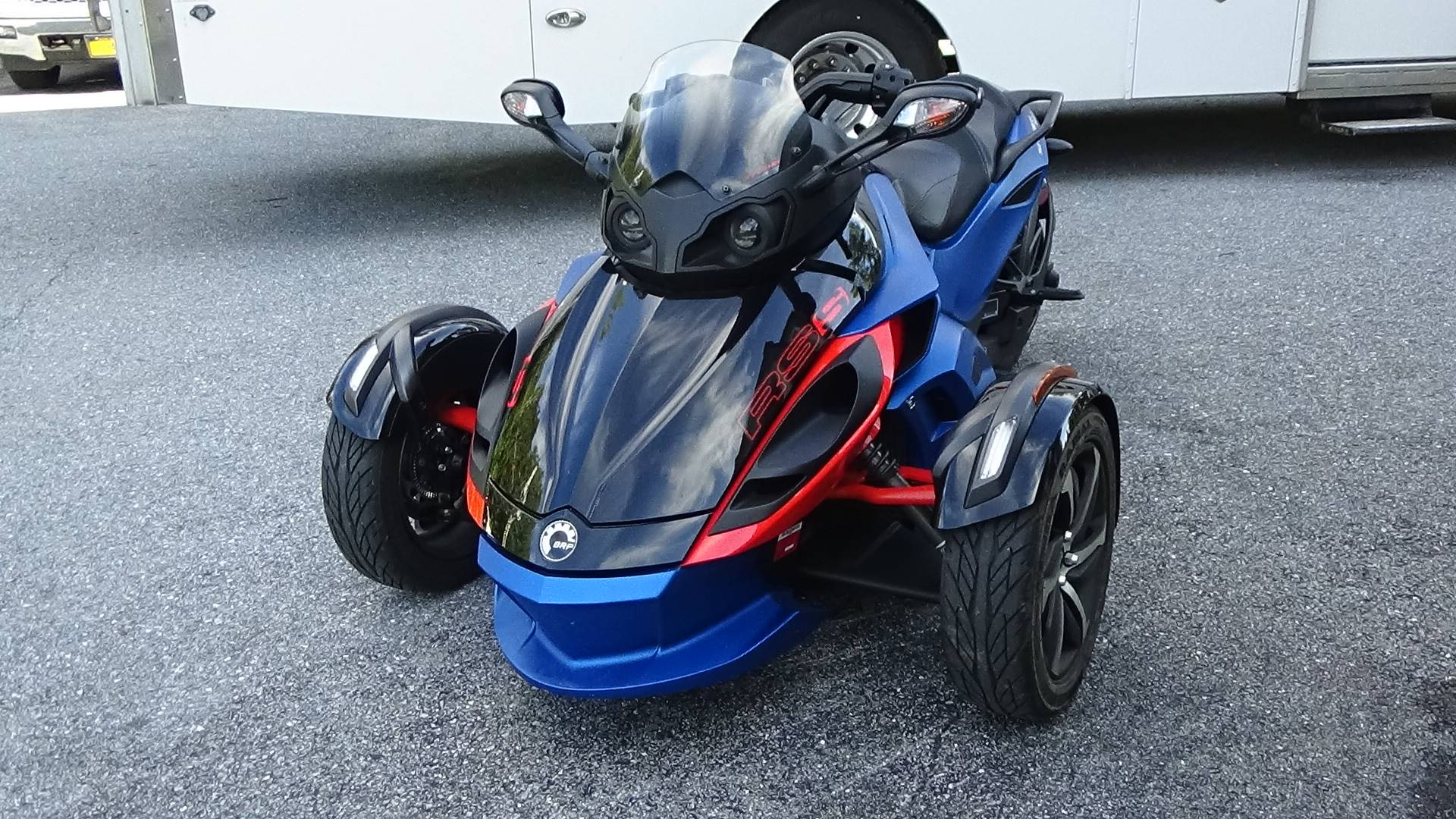 2015 Can-Am Spyder® RS-S SE5 in Bennington, Vermont - Photo 7