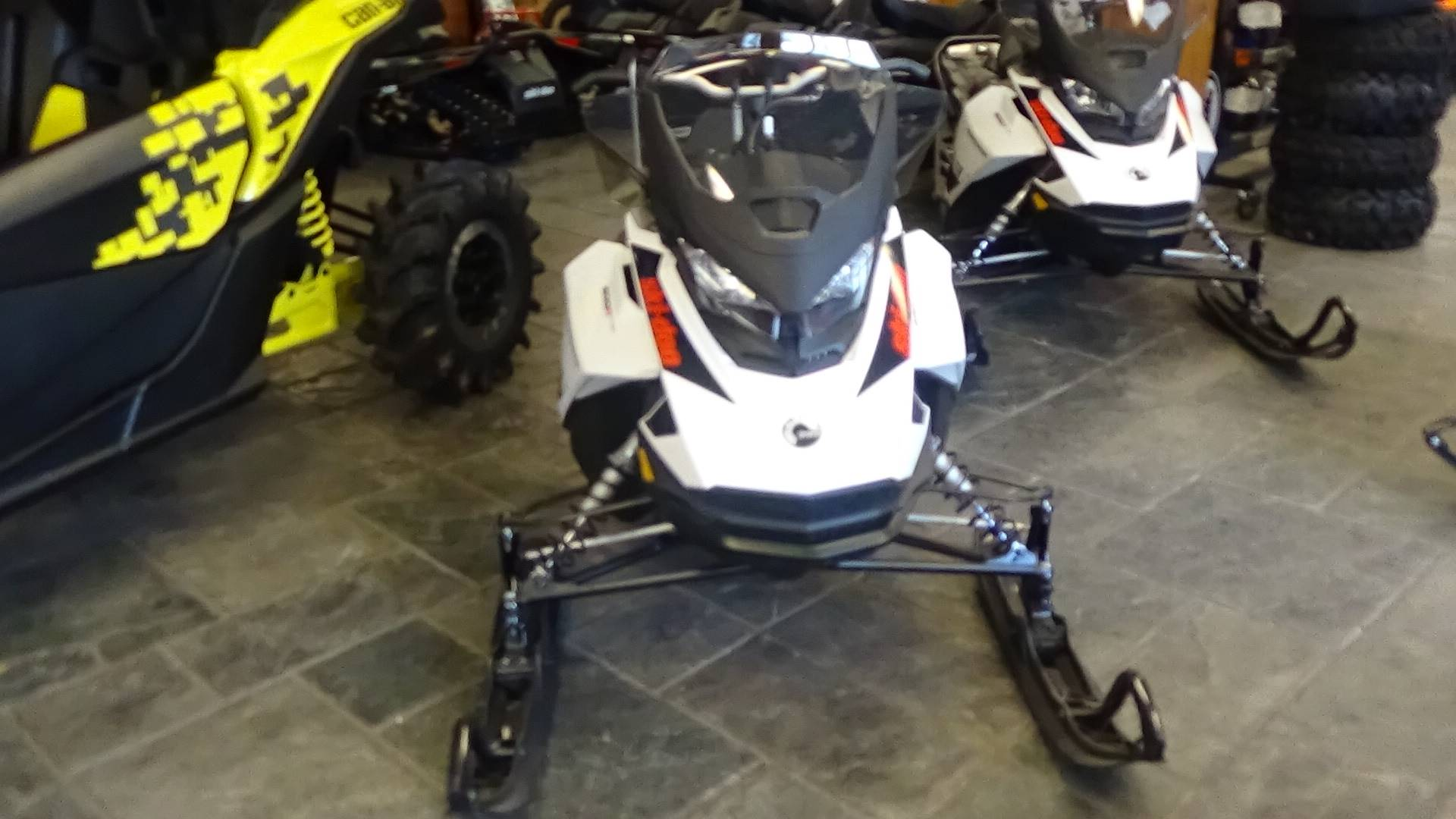 New 2019 Ski-Doo Renegade Adrenaline 600R E-TEC Snowmobiles in Adams