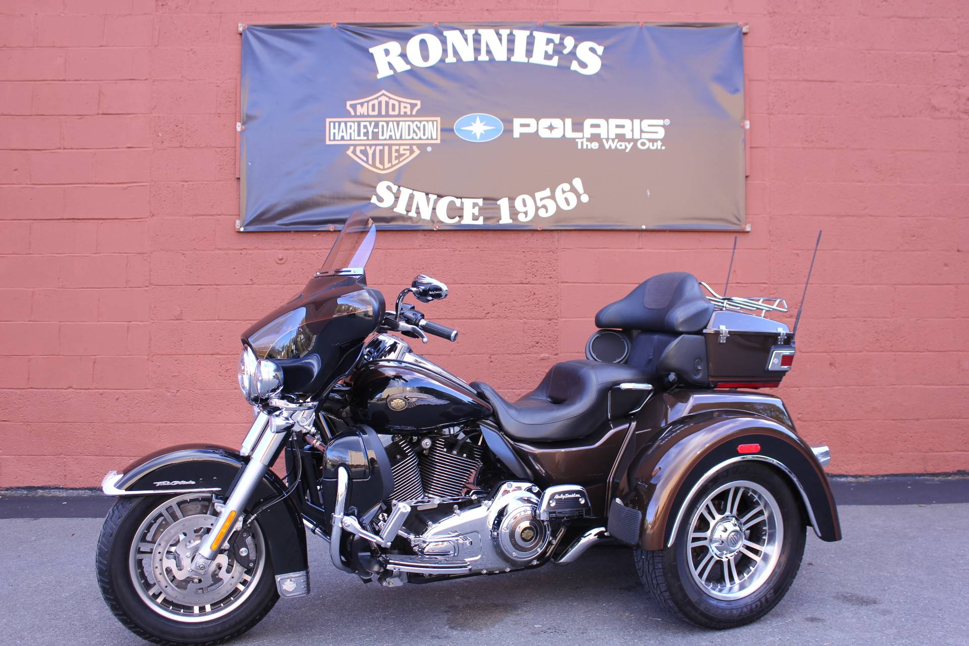 2013 Harley-Davidson Tri Glide® Ultra Classic® 110th Anniversary Edition in Pittsfield, Massachusetts
