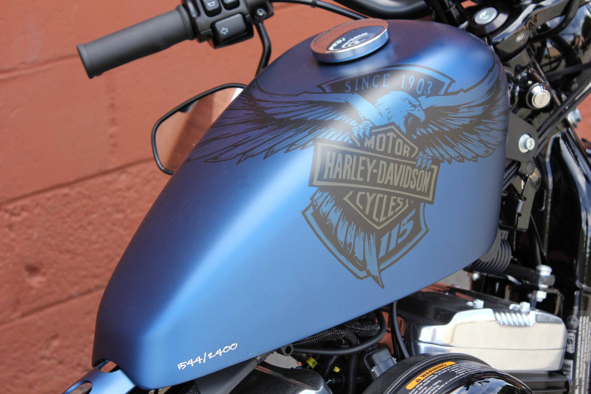 2018 Harley-Davidson 115th Anniversary Forty-Eight® in Pittsfield, Massachusetts - Photo 3