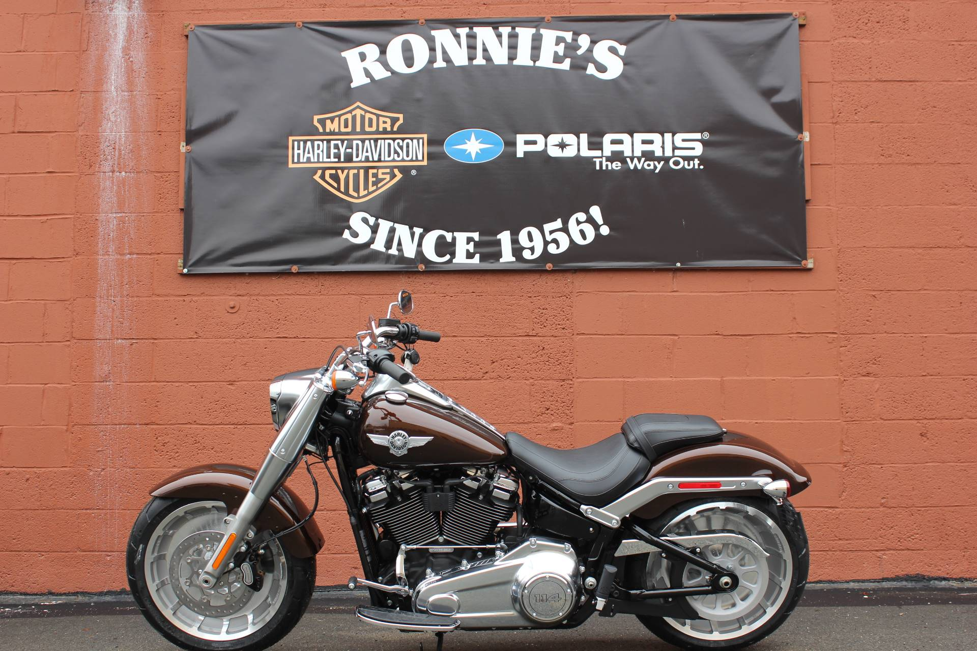 2019 Harley-Davidson Fat Boy® 114 in Pittsfield, Massachusetts - Photo 1