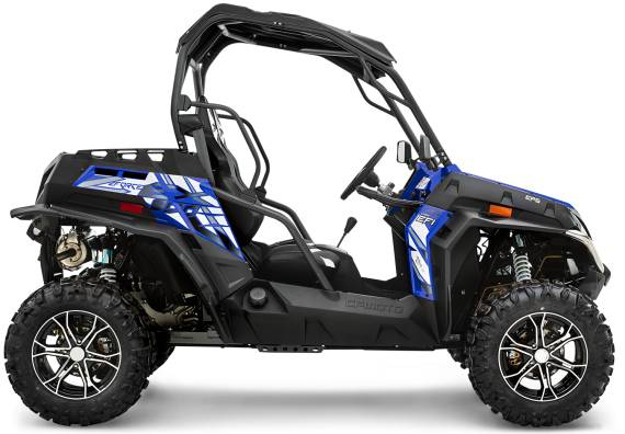 2018 CFMOTO Z Force 800 EX in Pittsfield, Massachusetts