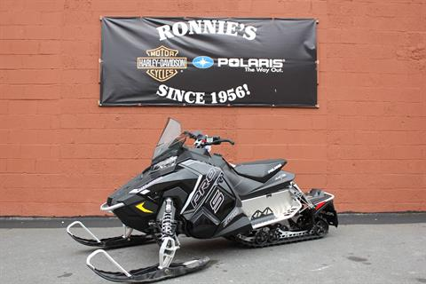 2018 Polaris 800 RUSH PRO-S ES in Pittsfield, Massachusetts