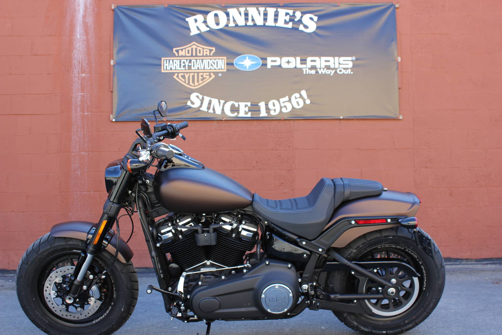2019 Harley-Davidson Fat Bob® 114 in Pittsfield, Massachusetts - Photo 1