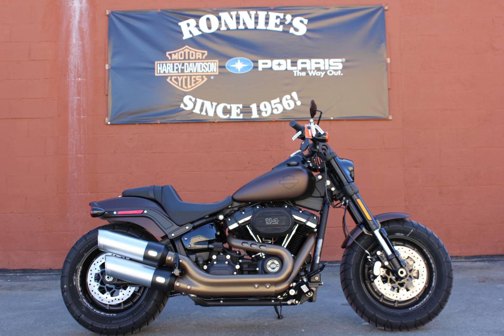 New 2019 Harley-Davidson Fat Bob® 114 Motorcycles in Pittsfield, MA