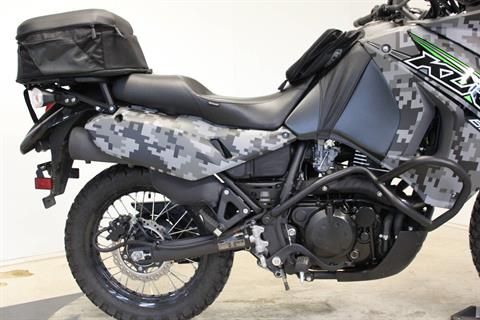 2018 Kawasaki KLR 650 Camo in Pittsfield, Massachusetts - Photo 10