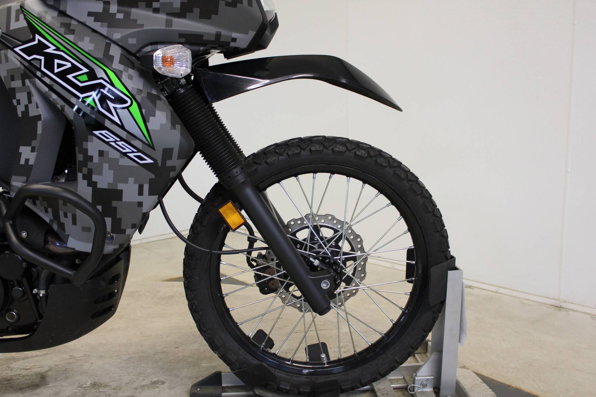 2018 Kawasaki KLR 650 Camo in Pittsfield, Massachusetts - Photo 11