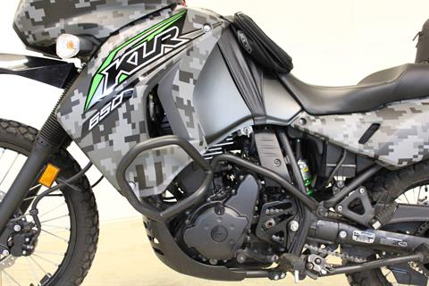 2018 Kawasaki KLR 650 Camo in Pittsfield, Massachusetts - Photo 13