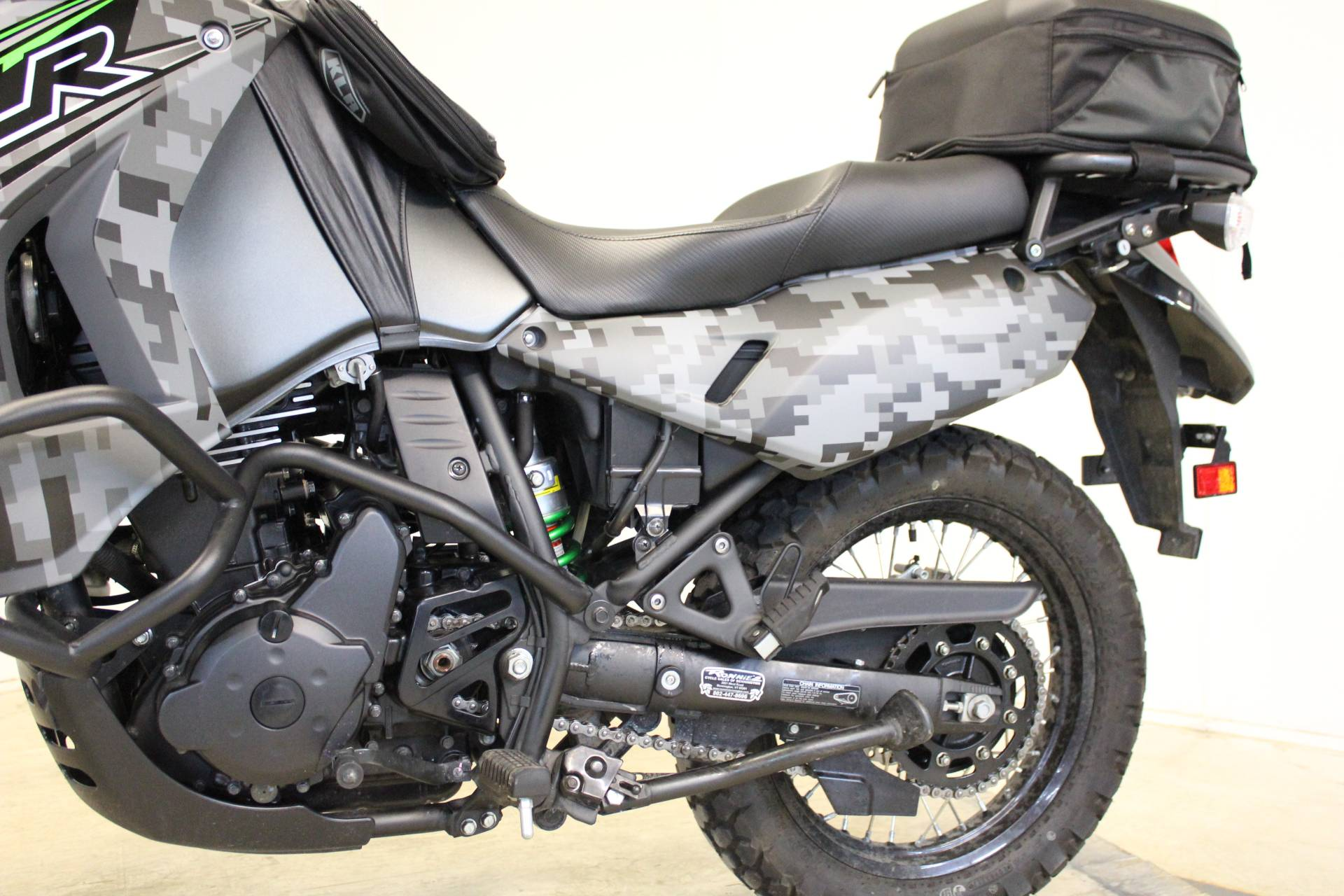 2018 Kawasaki KLR 650 Camo in Pittsfield, Massachusetts - Photo 14