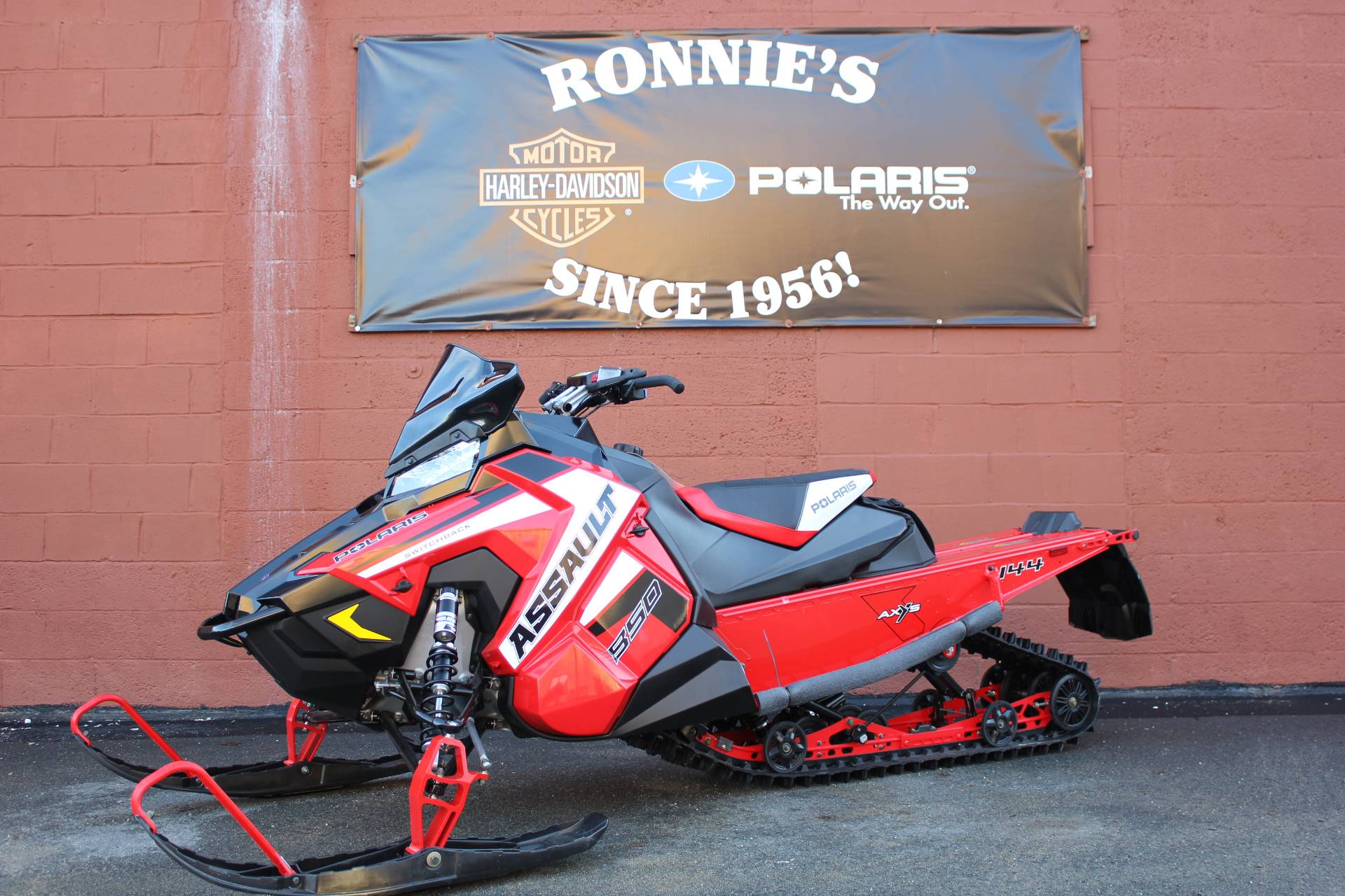 2019 Polaris 850 Switchback Assault 144 SnowCheck Select in Pittsfield, Massachusetts - Photo 1