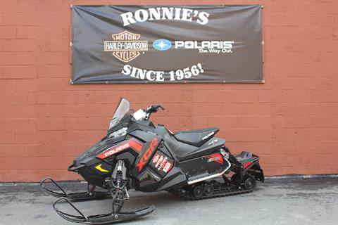 2018 Polaris 600 RUSH XCR SnowCheck Select in Pittsfield, Massachusetts - Photo 1