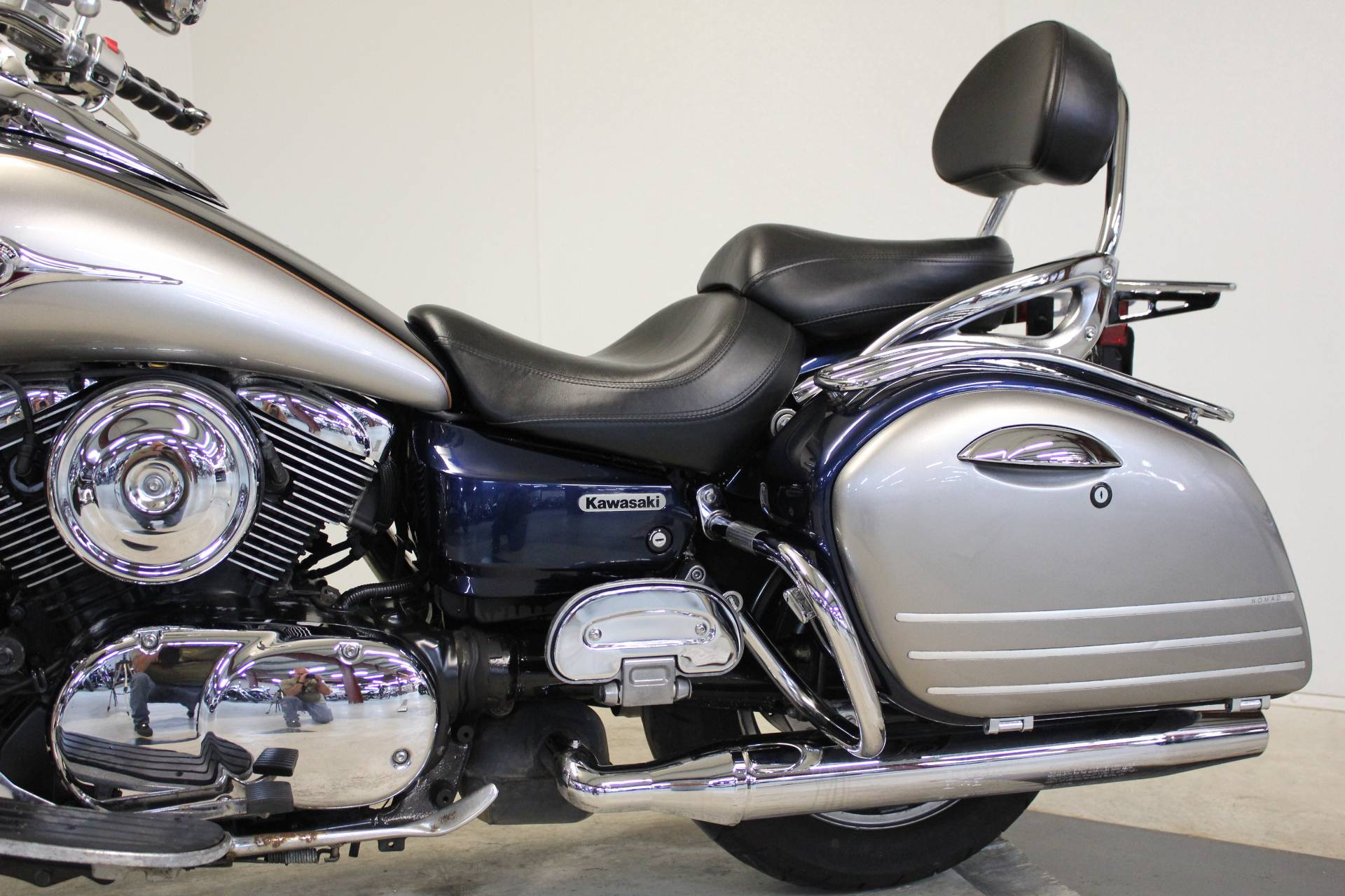2005 Kawasaki Vulcan 1600 Nomad in Pittsfield, Massachusetts - Photo 14