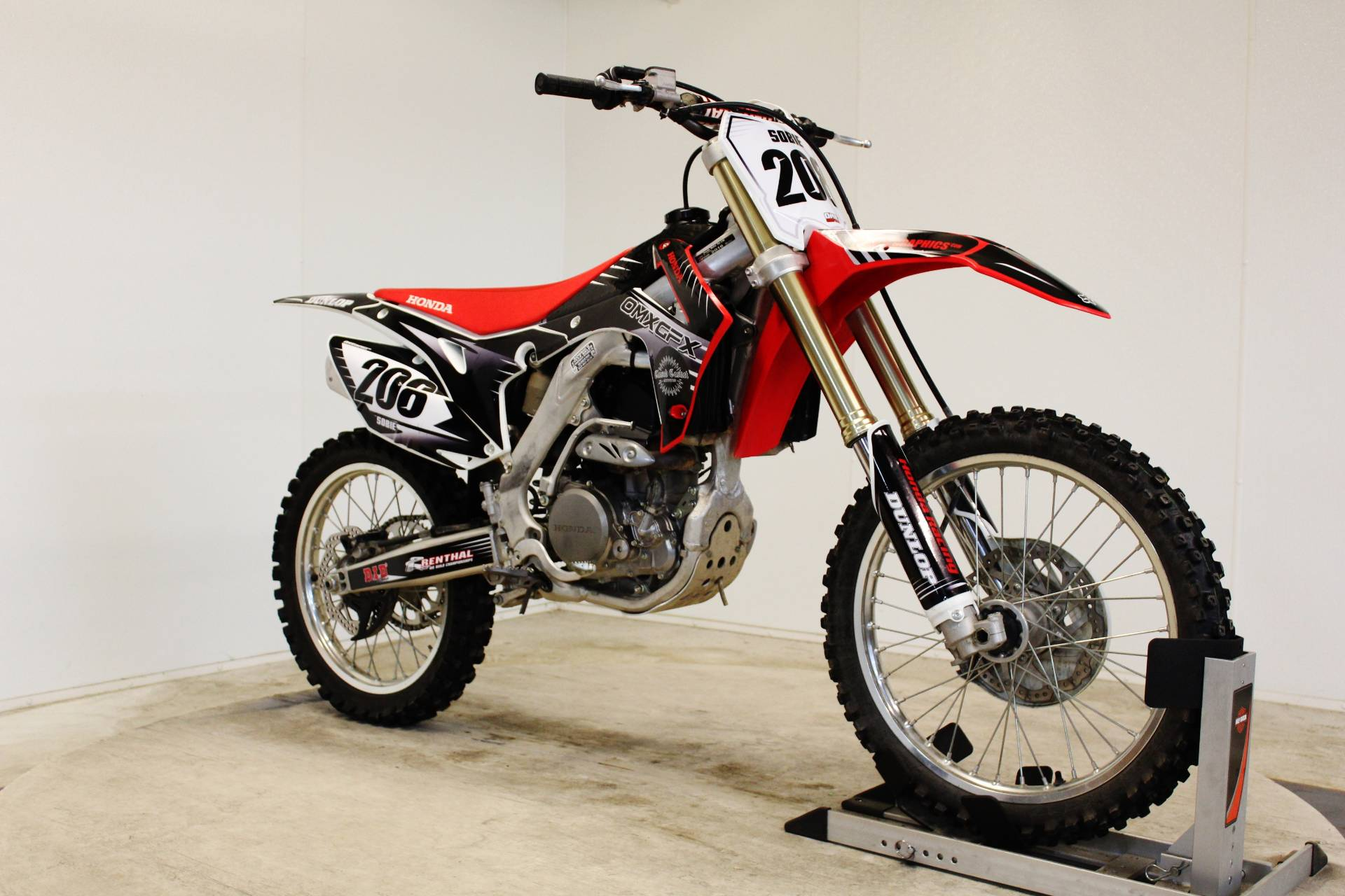 2016 Honda CRF250R in Pittsfield, Massachusetts
