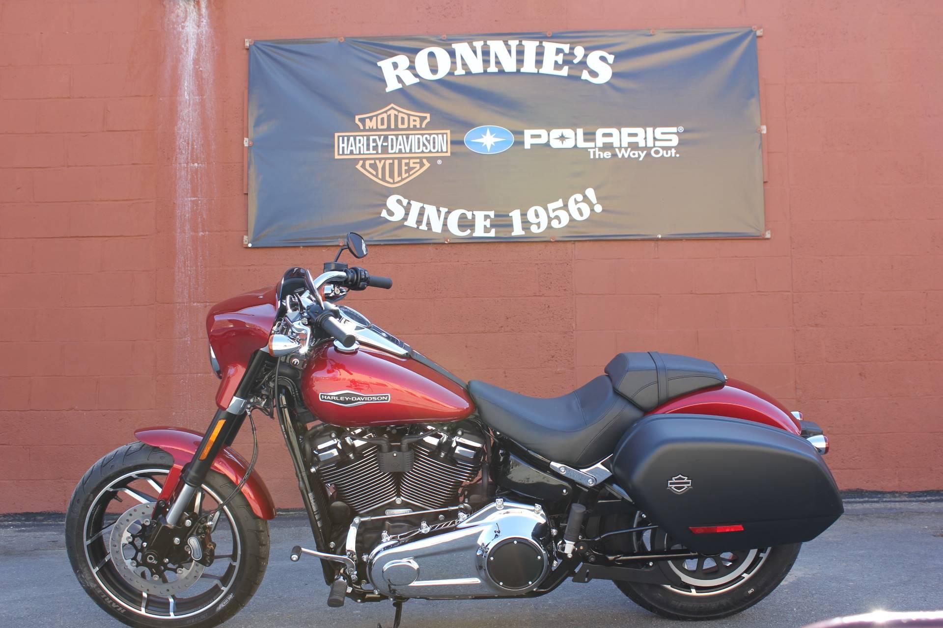 New 2019 Harley-Davidson Sport Glide® Motorcycles in Adams