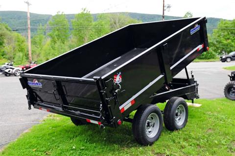 2017 Hawke 6X10 7,000 lb. Dump Trailer in Adams, Massachusetts