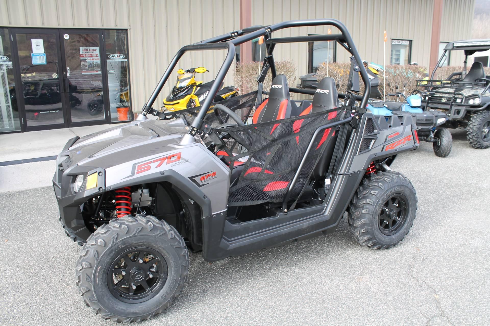 New 2019 Polaris RZR 570 EPS Utility Vehicles in Adams, MA | Stock