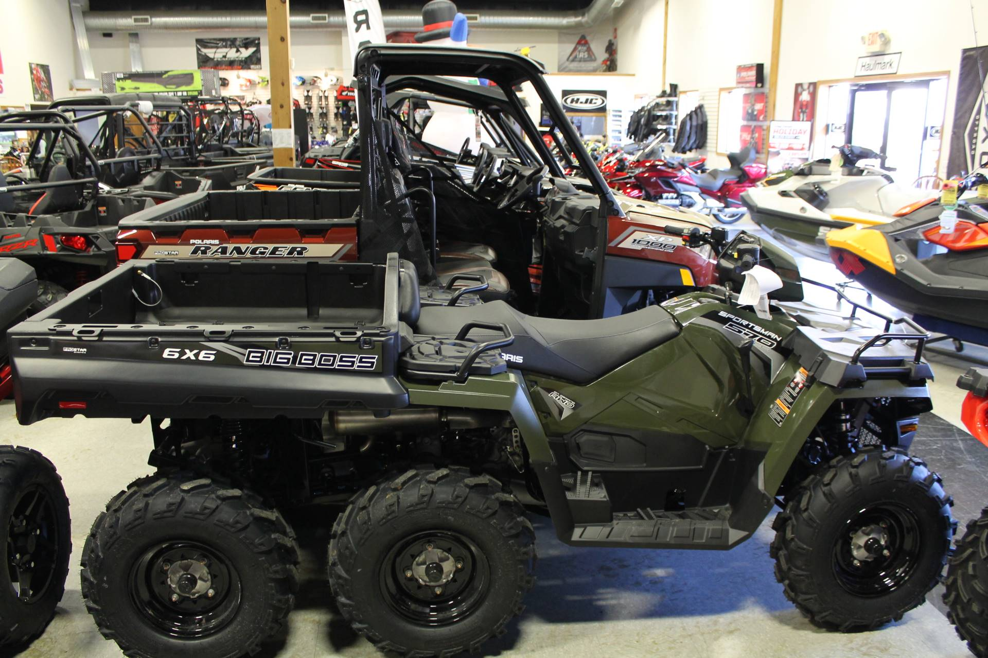 2019 Polaris Sportsman 6x6 570 in Adams, Massachusetts
