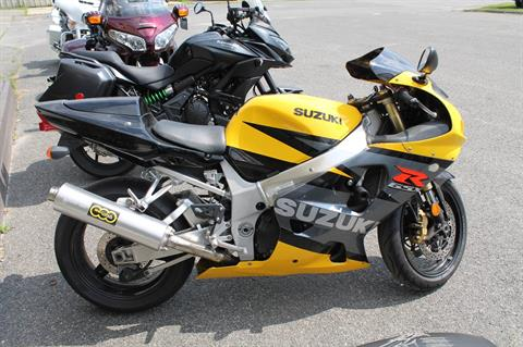 2003 Suzuki GSX-R750 in Adams, Massachusetts