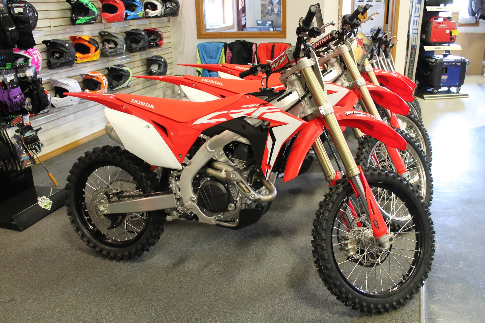 New 2019 Honda CRF450R Motorcycles in Adams, MA | Stock
