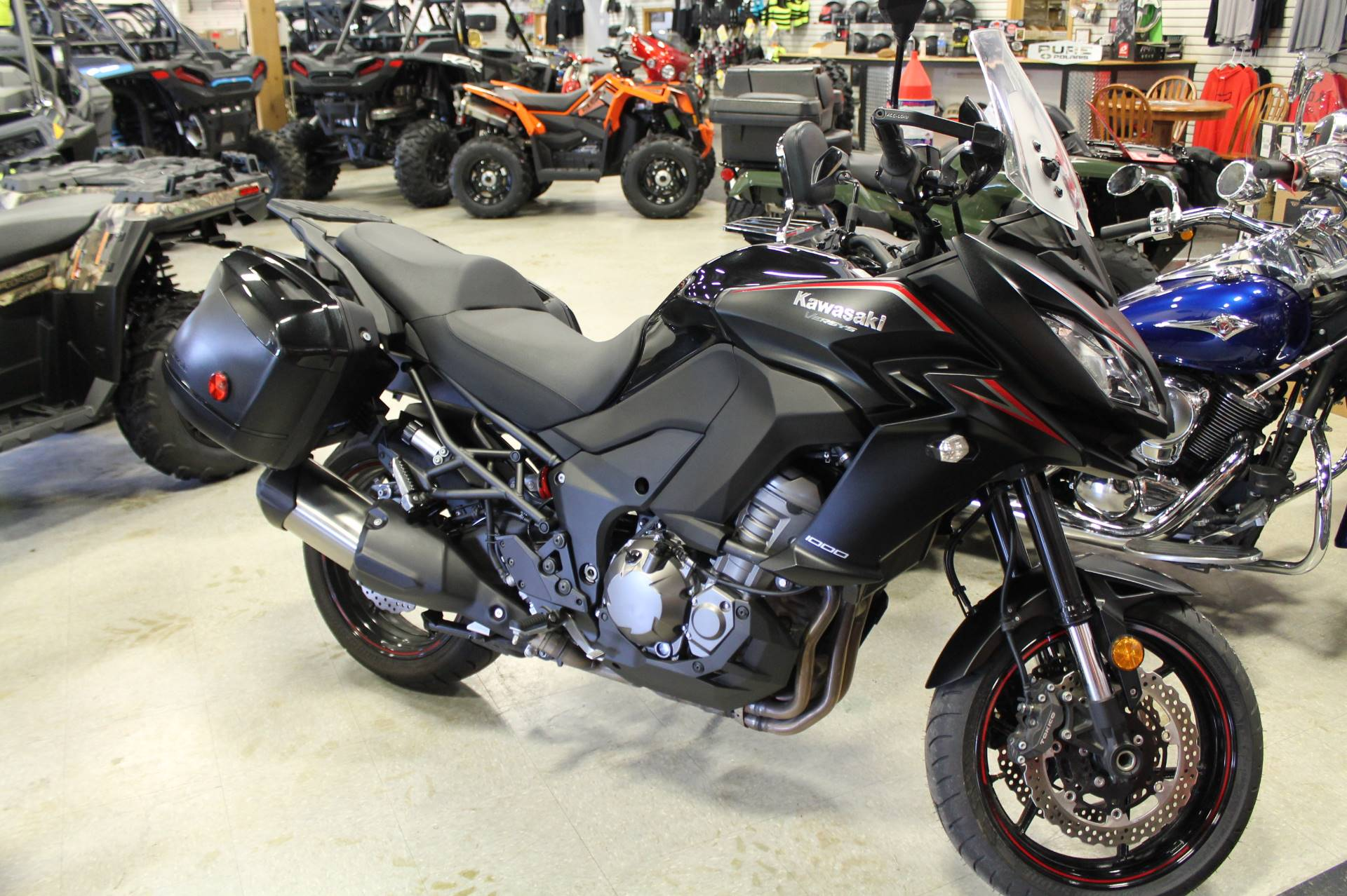 2017 Kawasaki Versys 1000 LT in Adams, Massachusetts