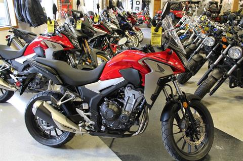 2019 Honda CB500X in Adams, Massachusetts