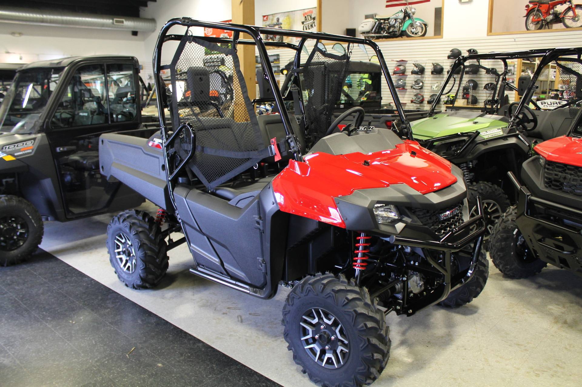 2021 Honda Pioneer 700 Deluxe in Adams, Massachusetts