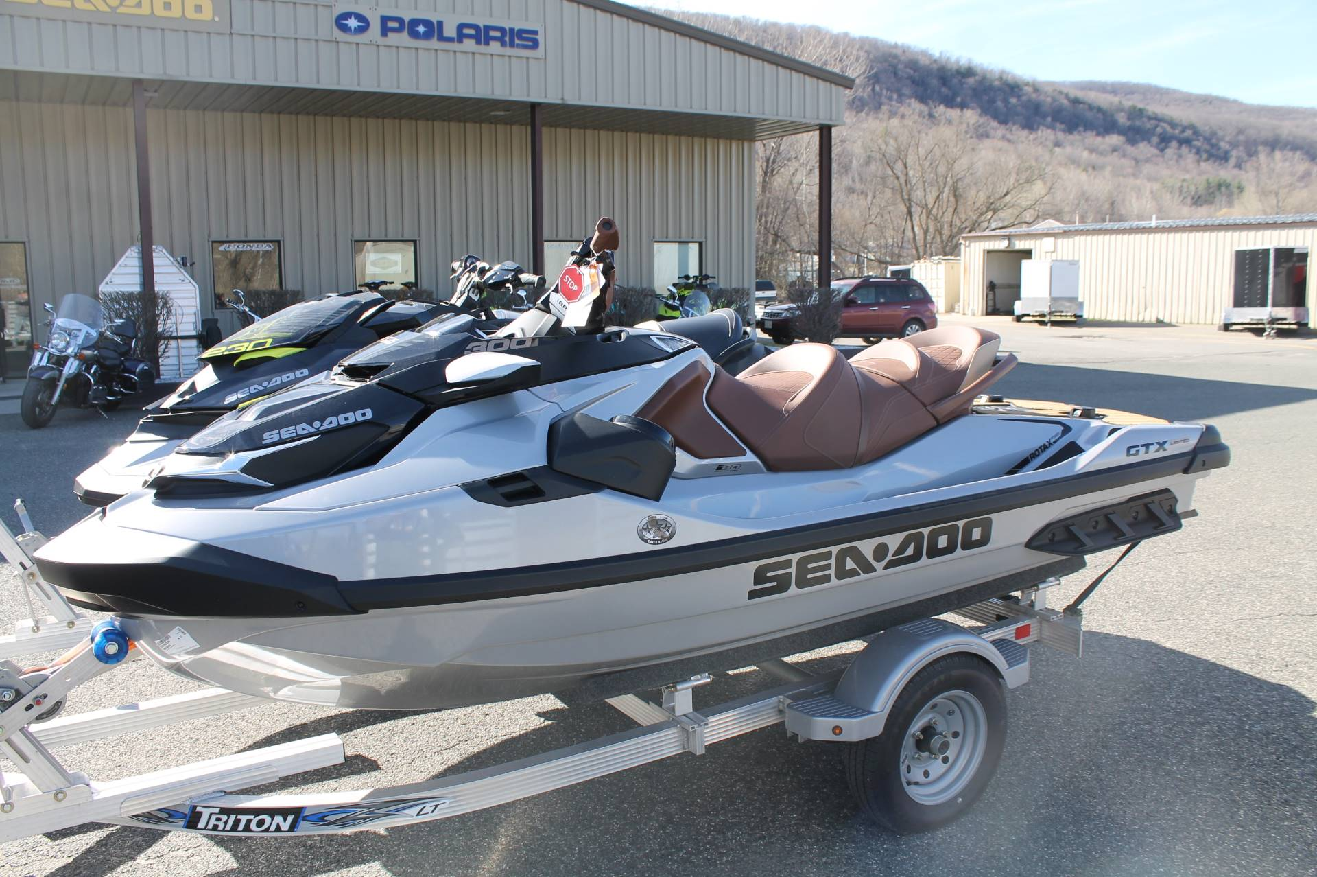 New 2019 Sea-Doo GTX Limited 300 + Sound System Watercraft in Adams