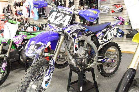 2011 Yamaha YZ250F in Adams, Massachusetts